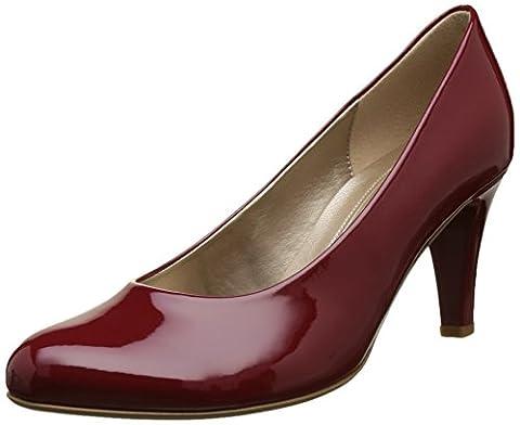 Gabor Shoes Damen Fashion Pumps, Rot (Cherry +Absatz 75), 38.5 EU (5.5 UK)