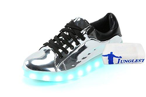 Turnschuhe Unisex Sportschuhe Handtuch Led 7 Sport erwa Schuhe C5 Für Sneaker Aufladen Farbe Leuchtend kleines junglest® Usb present 1SWZgqOn