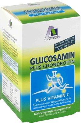 Glucosamin 750 mg+Chondroitin 100 mg Kapseln 180 stk