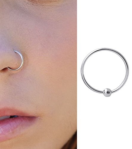 Pcm Pure Sterling Silver Nose Pin For Women(92.5)