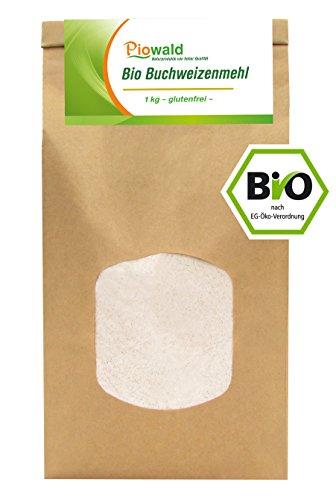 BIO Buchweizen Mehl – 1 kg, glutenfrei