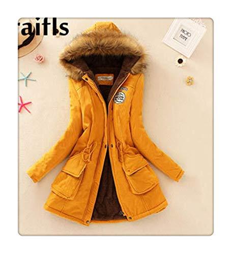 1a771c4bdd6 New Long Parkas Female Womens Winter Jacket Coat Thick Cotton Warm Jacket  Womens Outwear Parkas Plus