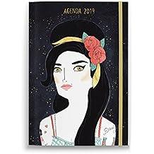Agenda anual bolsillo María Hesse 2019 (TANTANFAN)
