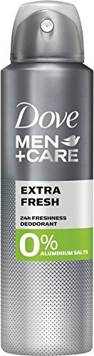 Dove MEN+CARE Deospray Extra Fresh ohne Aluminium, 150 ml