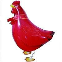 Palloncino Airwalker Animale Animale Domestico Rosso Gallo,