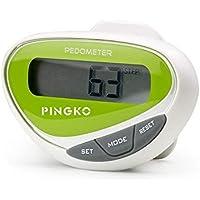 PINGKO podomètre Fitness Marche Compteur écran LCD Step Distance Calorie Compteur Fitness Tracker-Vert