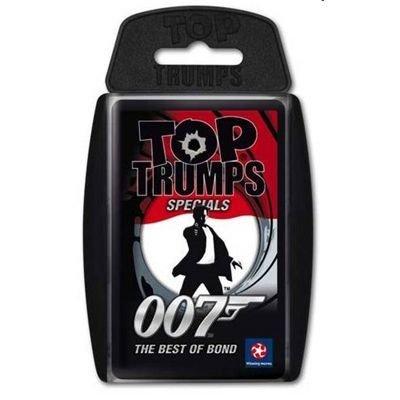 """Deutsche Version / Ausgabe - Winning Moves - Top Trumps """"007 Best of Bond"""" das Kartenspiel - Quartett"""