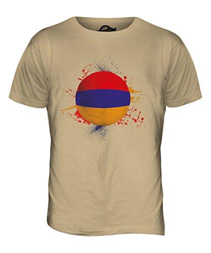 CandyMix Armenien Fußball Herren T Shirt Sand