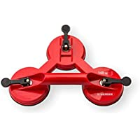 Bergin Saugheber Kunststoff 3-Kopf Tragfähigkeit 140 kg mit ergonomischem Griff