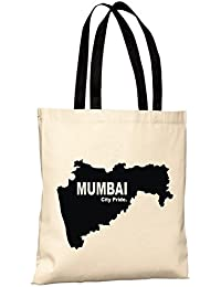 Mumbai City Pride Reusable 100% Cotton Eco Friendly Printed Tote Bag From State Pride -T