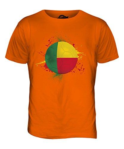 CandyMix Benin Fußball Herren T Shirt Orange