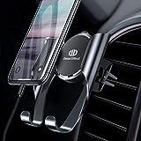 DesertWest Handyhalterung Auto, Universale Handy Halterung KFZ Lüftung Lüftungsschlitz Belüftung mit Automatische Erinnerungsfunktion für iPhone X/8/7 Plus/6S,Samsung S9/S8 Edge,Huawei,LG und Mehr