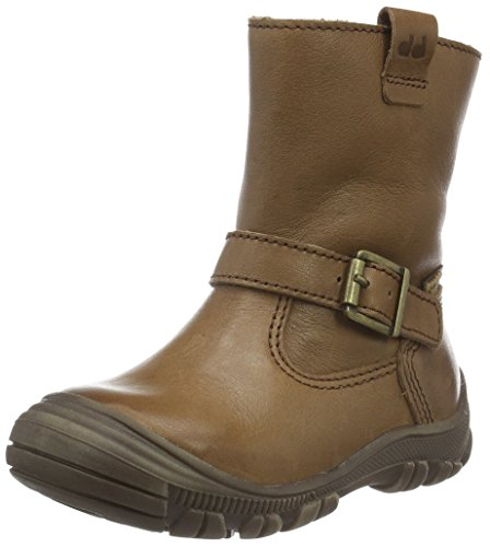 FRODDO Froddo Girls Kids Boots Waterproof, Bottes mi-hauteur avec doublure chaude fille Marron - Marron