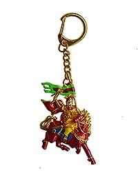 Feng Shui King Gesar Amulet Keychain W Free Fengshuisale Red String Bracelet W1697 By Fengshuisale