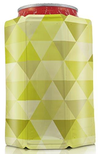Vacu Vin 3883660 Aktiv Dosenkühler Diamant, grün