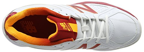 New Balance 4030v2, Chaussures de Cricket Homme Blanc (White)