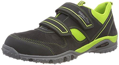 Superfit Jungen SPORT4 Sneaker, Grau (Grau/Grün 20), 35 EU