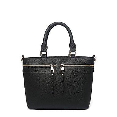 Damenmode PU Leder Messenger Umhängetaschen/Handtasche Tote Dark Blue