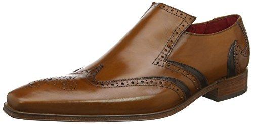 Jeffery West K106, Zapatos de Cordones Oxford para Hombre, Azul (Navy Navy), 43 EU
