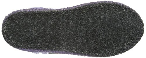 Haflinger Karl, Chaussons mixte enfant Violet - Violett (Orchidee 21)