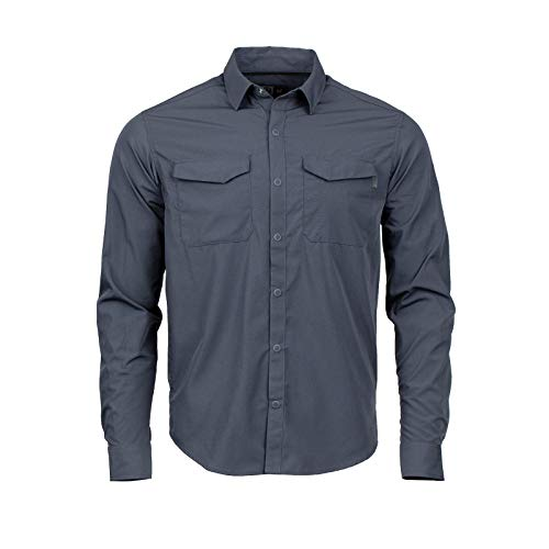 2 Button-up-shirt (Magpul Herren Button-up Stateside Shirt Long Sleeve Langärmelig, India Ink, XX-Large)