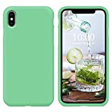 SURPHY iPhone Xs Silicone Case, Liquid Silicone Gel Rubber