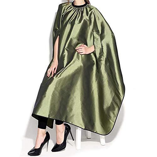 """FMEZY Salon Cape Versteckte Ärmel Friseur Erwachsene Haare Schneiden Schürze Kleid Tuch für Haarfärbemittel Farbe wasserdichte WrapBarber Werkzeuge 63""""x 56"""""""