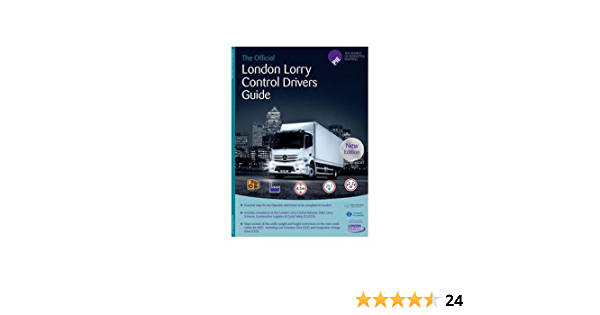 London Lkw Kontrolle Fahrer Karte Leitfaden Navigation