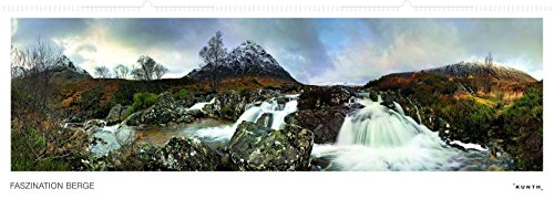 Faszination Berg Panoramakalender, immerwährend: Panorama-Wandkalender