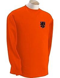 Dutch Holanda Países bajos Equipo De Fútbol Retro De Manga Larga Camiseta - Todas Las Tallas
