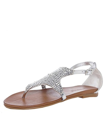 Inuovo Sandali di perline Starfish 36 Silver