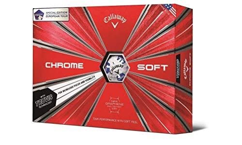 Callaway Chrome Soft Truvis European Tour Golf Balls (12 golfbälle) -
