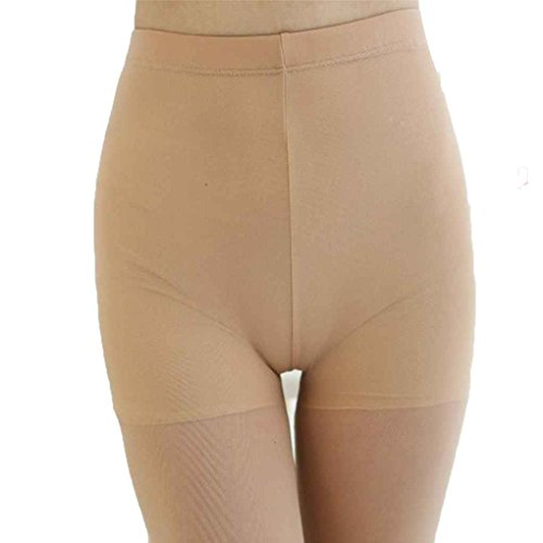 Masterein Frau Verbandsmull Leggings elastische Strumpf Strumpfhosen Anti Exposure Net Silk Strümpfe Ineinander greifen Safty Shorts Lange Socken Hautfarbe