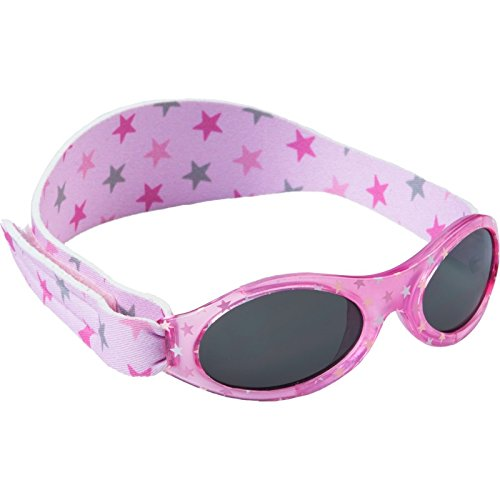 Dooky Baby Banz Baby-Sonnenbrille Pink Star rosa
