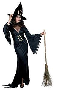 Ciao- Costume Adulto Strega Nera,TG. L Disfraces, Color negro, Taglia unica (25979)