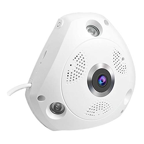 Royallite 1 3 MP 960p Fisheye 360° Panoramic Wireless WiFi HD IP
