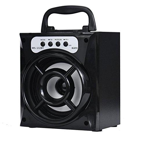 Lautsprecher, Rcool Outdoor-Bluetooth Wireless Portable Lautsprecher Super Bass mit USB/TF/AUX/FM-Radio