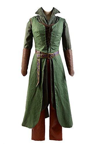 Fuman The Hobbit 2/3 Elf Tauriel Outfit Cosplay Kostüm ()