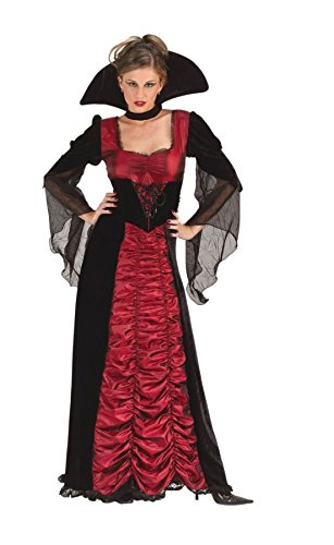 Taft Sarg Vampirin Damen Kostüm von Express Fancy Kleid