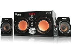 5 Core Hi-Fi Multimedia Speaker system HT-2112 Home Theater System,Compatible with different devices such as Cellphone/PC,Laptop, CD player, DVD player, Mp3 player Home Audio Speaker