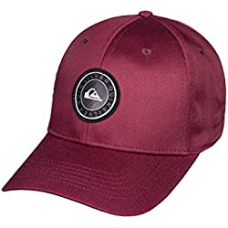 Quiksilver Decades Plus Cap, Niños, Brick Red, Talla Única