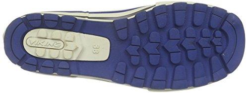 Viking Jolly, Bottes en caoutchouc non-fourrées, tige haute mixte enfant Bleu - Bleu roi (15)