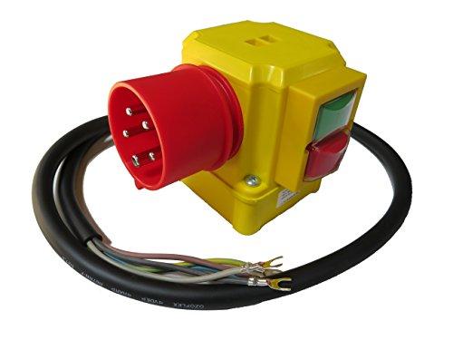 Sicherheitsschalter K-900; VB; ST; KA9; 400 Volt mit Phasenwender, Unterspannungsauslösung; Modell-Nr.: 00459060