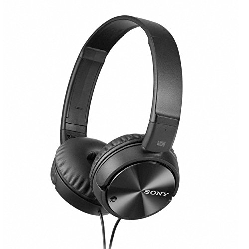 Sony MDR-ZX110NC On-Ear Noise Cancellation Headphones (Black)