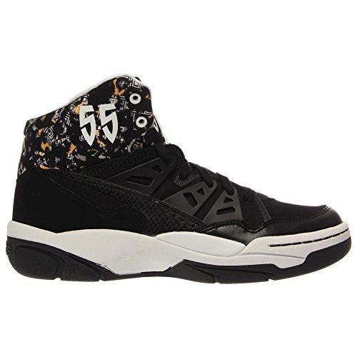 Adidas Mutombo - Noir / Blanc Run, 8 D Us Black / Black-White