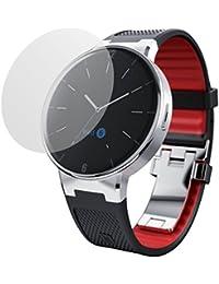 dipos Protector de pantalla para Alcatel One Touch Watch (6 unidades) - mate pelicula protectora de pantalla