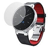 dipos I 2X Schutzfolie matt passend für Alcatel One Touch Watch Folie Bildschirmschutzfolie