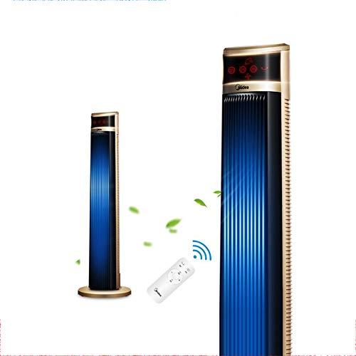 Liziyu Turmventilator Oszilation 103 cm | Säulenventilator mit Fernbedienung |40W | Oscillating Tower Fan | 60° oszillierend | 3 Geschwindigkeiten + Timer bis zu 8 Std| GS | Gold