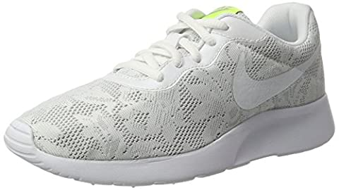 Nike Women's 902865 Low-Top Sneakers, Multicolour (Blanco / Platino), 4.5