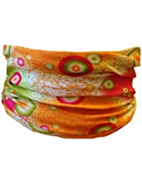 Multifunction Neckwarmer, Snood, Hat, Scarf and Hood in China dots print by Monogram